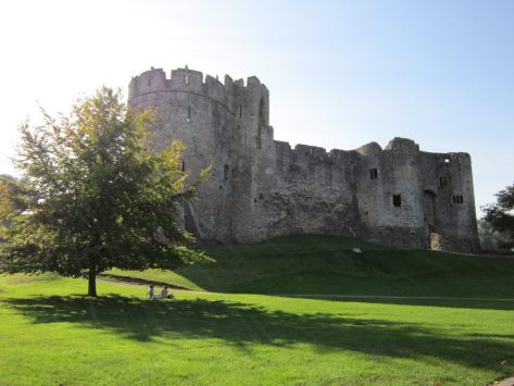 Chepstow Castle, Wales, United Kingdom, backpacksandblackboards.com
