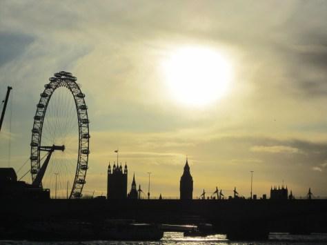 View of London Skyline, backpacksandblackboards.com