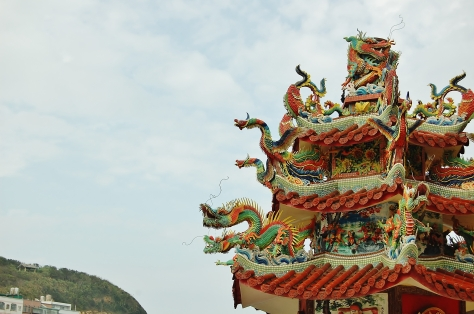 Temple in Wanli, Taiwan, backpacksandblackboards,com