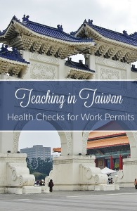 Teaching in Taiwan Health Checks