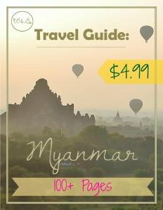 Travel Guide Myanmar Ebook