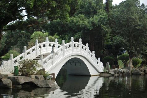 bridge pond chiang kai shek