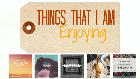 Enjoying Featured Oct 1