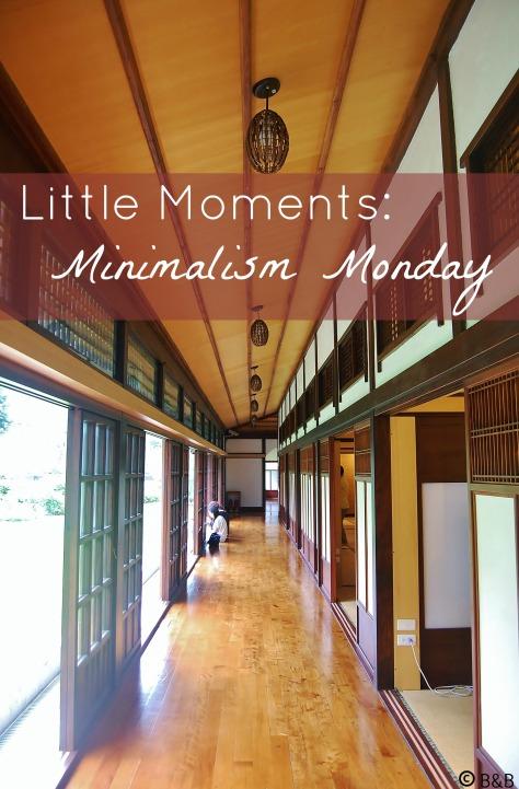 Minimalism Monday