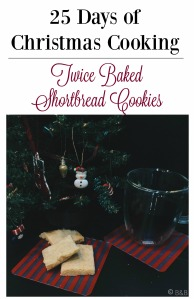 Twice Baked Shortbread Cookies